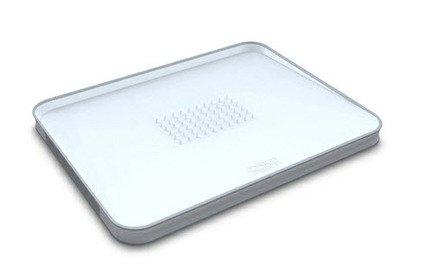 Поднос для сервировки и разделывания, 37.5х29.5 см, белый Joseph&Joseph 60003