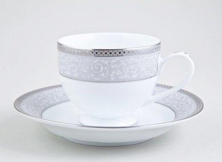 Набор чашек Экле на 6 персон, 12 пр.Чашки и Кружки<br>Элегантный набор чашек из 12 предметов на 6 персон. Идеален для торжественной сервировки стола. Каждая чашка в наборе выполнена с прекрасным вкусом и изяществом. Тонкое исполнение подчеркивает удивительную природную красоту фарфора.<br><br>Серия: Экле<br>Состав: Чашка чайная - 6 шт., Блюдце чайное - 6 шт.