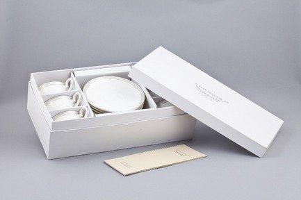 Набор чашек Ника на 6 персон, 12 пр.Чашки и Кружки<br>Элегантный набор чашек из 12 предметов на 6 персон. Идеален для торжественной сервировки стола. Каждая чашка в наборе выполнена с прекрасным вкусом и изяществом. Тонкое исполнение подчеркивает удивительную природную красоту фарфора.<br><br>Серия: Ника<br>Состав: Чашка чайная - 6 шт., Блюдце чайное - 6 шт.