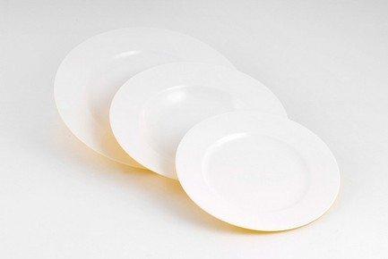 Набор тарелок Желтое на 6 персон, 18 пр.Тарелки и Блюдца<br>Набор элегантных тарелок из 18 предметов на 6 персон. Идеален для торжественной сервировки стола. Каждая тарелка в наборе выполнена с прекрасным вкусом и изяществом. Тонкое исполнение подчеркивает удивительную природную красоту фарфора.<br><br>Серия: Желтое<br>Состав: Тарелка подстановочная - 6 шт.,  Тарелка суповая - 6 шт., Тарелка закусочная - 6 шт.