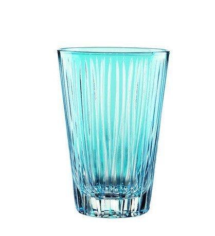 Набор высоких стаканов (360 мл), светло-голубые, 2 шт.Стаканы<br>Стакан среднего размера – обязательный предмет сервировки стола. Набор высоких, довольно вместительных стаканов прекрасно подходит для безалкогольных и прохладительных напитков.<br><br>Серия: Sixties lines