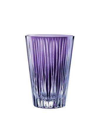 Набор высоких стаканов (360 мл), фиолетовые, 2 шт.Стаканы<br>Стакан среднего размера – обязательный предмет сервировки стола. Набор высоких, довольно вместительных стаканов прекрасно подходит для безалкогольных и прохладительных напитков.<br><br>Серия: Sixties lines