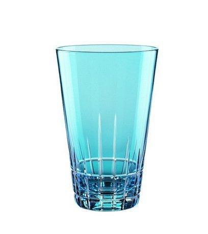 Набор высоких стаканов (450 мл), светло-голубые, 2 шт.Стаканы<br>Набор этих высоких стаканов будет уместно смотреться в любом баре. В них коктейли или разнообразные безалкогольные напитки со льдом выглядят особенно аппетитно и эффектно.<br><br>Серия: Sixties stella