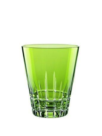 Набор низких стаканов (310 мл), киви, 2 шт.Стаканы<br>Невысокие, но достаточно вместительные стаканы универсальны. Они обязательно понравятся любителям крепких напитков, которые подаются небольшими порциями со льдом. И они незаменимы для подачи прохладительных напитков: соков и вод.<br><br>Серия: Sixties stella