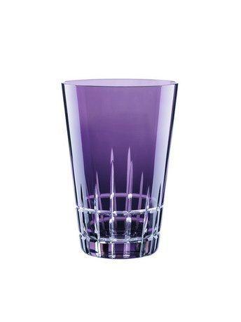 Набор высоких стаканов (360 мл), фиолетовые, 2 шт.