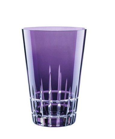 Набор высоких стаканов (450 мл), фиолетовые, 2 шт.