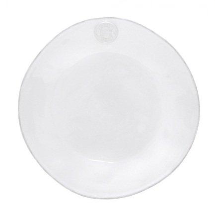 Тарелка Nova, 25 см, белая, покрытие глазурьТарелки и Блюдца<br>Плоская керамическая тарелка среднего размера универсальна. Она пригодится для подачи десерта, кондитерских изделий или фруктов. Ее также можно использовать, как подстановочное блюдо для персональных салатников и пиал. Благодаря прочности керамики вы можете пользоваться тарелкой ежедневно, в то время как, строгий классический позволяет сервировать ее и для более торжественных случаев.<br><br>Серия: Costa Nova Nova