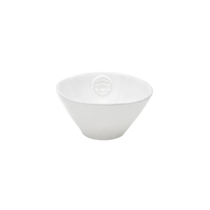 Салатница Nova, 15 см, белая, покрытие глазурьСалатницы, Супницы<br>Чаша небольшого диаметра, изготовленная из керамики, довольно практична и удобна. Ее предназначение – порционная подача салатов. Также она может использоваться как пиала для индивидуальной подачи каш, супов или спагетти.<br><br>Серия: Costa Nova Nova