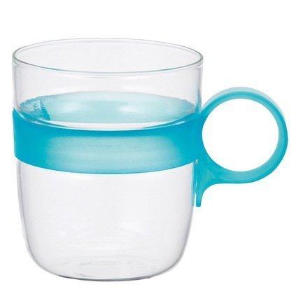 Кружка Drop (0.26 л), 7.5х10.6 см, голубой