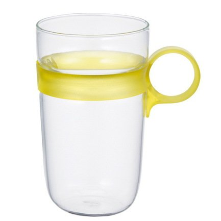 Кружка Drop (0.38 л), 7.5х12 см, желтый