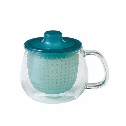 Кружка-чайник Unimug (0.35 л), 7.8х9 см, голубой Kinto 8379
