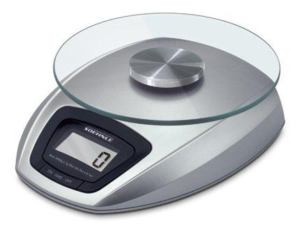 Весы кухонные SienaВесы кухонные<br>Удобные кухонные электронные весы отлично подходят для домашнего использования. Корпус выполнен из гигиеничного бытового пластика, а съемная круглая платформа для взвешивания – из высокопрочного стекла. Весы имеют ЖК-дисплей, на который выводятся результаты измерений.     Характеристики:   Предельно допустимый вес: 3 кг  Точность: 1 г  Автоматическое выключение<br><br>Серия: Soehnle