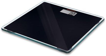 Весы напольные Slim Design, черныеВесы напольные<br>Ультратонкие напольные электронные весы предназначены для домашнего использования. Весы выполнены в стильном и элегантном дизайне. Платформа из прочного безосколочного стекла черного цвета очень устойчива. Весы высокоточные, они оснащены дисплеем для вывода результата взвешивания. Для включения весов вам не нужно становиться на платформу – встроенный датчик активации включает прибор автоматически.     Характеристики:   Максимальная нагрузка: 150 кг  Цена деления: 100 г  Автоматическое включение  Автоматическое выключение<br><br>Серия: Soehnle