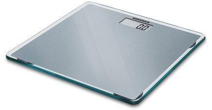 Весы напольные Slim Design, 33x1.8x33 см, сереброВесы напольные<br>Ультратонкие напольные электронные весы предназначены для домашнего использования. Весы выполнены в стильном и элегантном дизайне. Устойчивая платформа изготовлена из прочного безосколочного стекла серебристого цвета. Весы высокоточные, они оснащены дисплеем для вывода результата взвешивания. Для включения не нужно становиться на платформу – встроенный датчик активации включает весы автоматически.     Характеристики:   Максимальная нагрузка: 150 кг  Цена деления: 100 г  Автоматическое включение  Автоматическое выключение<br><br>Серия: Soehnle