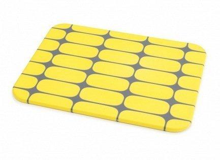 Доска разделочная 2 Tone, 25х19х0.8 см, желтая