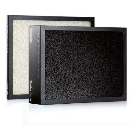 Комплект фильтров Filter ViktorУвлажнители и Очистители воздуха<br>Комплект заменяемых фильтров для очистителя воздуха Viktor состоит из предварительного и угольного картриджа. Предварительный фильтр удерживает шерсть и крупные пылевые частицы, угольный – защищает от неприятных запахов. Производитель рекомендует менять фильтры каждые 6 месяцев.<br>