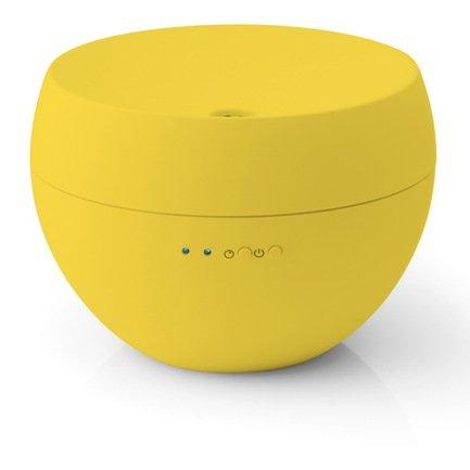 Ароматизатор воздуха ультразвуковой Jasmine Honeycomb, желтыйПорадовать себя<br>Ультразвуковой ароматизатор воздуха Jasmine Azurro компактен, удобен в обращении и очень симпатичен на вид. За свою привлекательность и компактность он был награжден международной премией в области дизайна «Housewares Design Awards». Прибор отличается низким уровнем шума не более 26 дБ, поэтому его работа не помешает комфортному пребыванию в помещении. Благодаря маленькой мощности 7.2 Вт ароматизатор экономичен в использовании. Аромо-масла помещаются в специальный отсек с водой. Генератора превращает воду в очень тонкий туман и распространяет по комнате ваш любимый запах. Туман подается автоматически и дозировано – с перерывом в 20 минут. Сменить аромат довольно просто: для этого нужно слить воду из резервуара, протереть его салфеткой и наполнить снова.     Характеристики:   Высота: 9 см  Диаметр: 13 см  Мощность: 7.2 Вт  Емкость резервуара: 0.1 л  Масса: 0.4 кг<br>