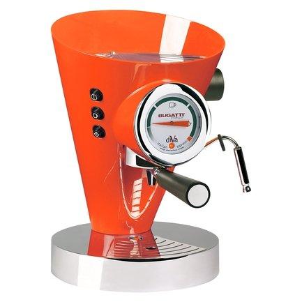 Кофеварка Espresso Diva, оранжевая