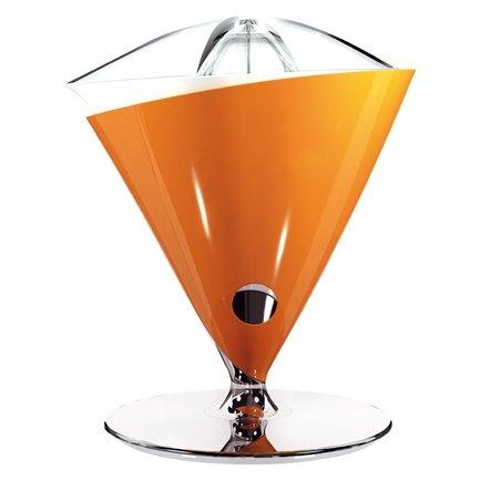 Соковыжималка для цитрусовых Vita, оранжевая Casa Bugatti 55-VITACO