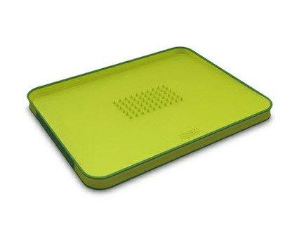 Поднос для сервировки и разделывания, 37.5х29.5 см, зеленый