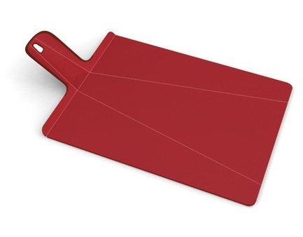 Разделочная доска «Нарежь и положи», 48x27 см, красная