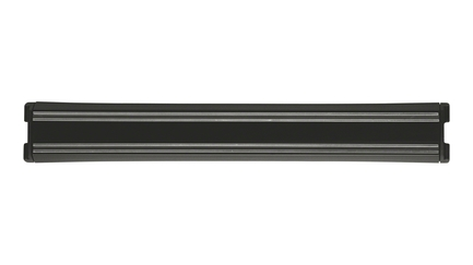 Магнитная подвеска для кухонных принадлежностей и ножей, черная, 30 смМагнитные держатели, Подставки для ножей<br>Магнитный держатель увеличивает функциональность кухни в целом. Благодаря ее скромным габаритам, подвеска позволяет сформировать рабочую зону в нужном месте. К тому же, расположенная на стене магнитная подвеска для ножей позволяет экономить кухонное пространство.<br>