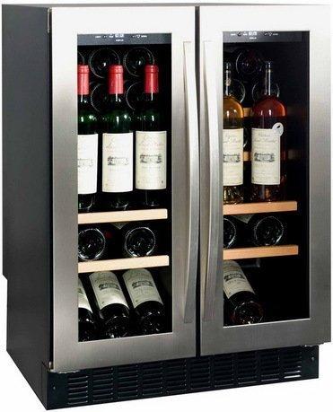 Шкаф для хранения вина на 44 бутылки, встраиваемый, двухзонный от Superposuda