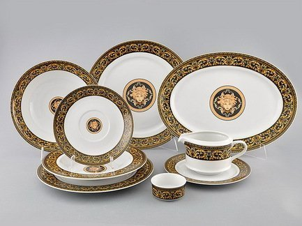 Сервиз столовый Сабина Версаче Классик, 24 пр. Leander 02162124-172B