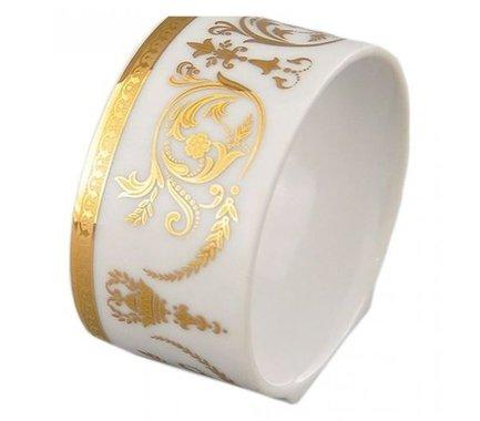 Кольцо для салфеток Сабина Золотой орнамент