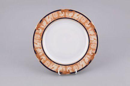 Набор тарелок мелких Сабина Золотые листья, 25 см, 6 шт.