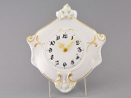 Часы настеные Соната Тонкое золото, гербовые, 27 см Leander 20198125-1139