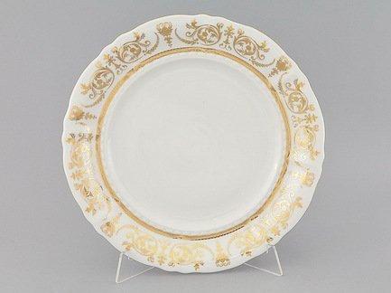 Блюдо круглое Соната Золотая элегантность, мелкое, 32 см