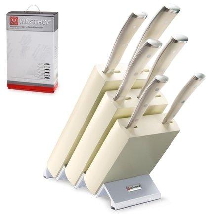 Набор ножей Ikon Cream White, 6 пр. Wusthof 9877 WUS