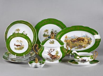 Сервиз столовый Мэри-Энн Золото полей, 25 пр. Leander 03162011-0763