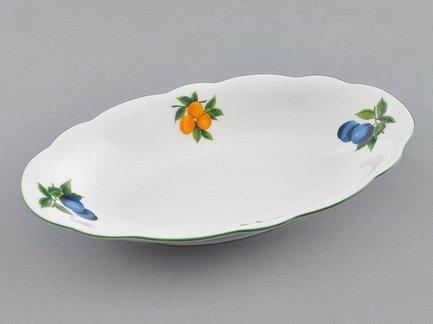 Блюдо овальное Мэри-Энн Фруктовые сады, 23 см