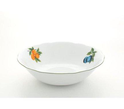 Салатник Мэри-Энн Фруктовые сады, 23 смСалатницы, Супницы<br>Компактный салатник идеально подходит для подачи общего салата, который гости будут накладывать в свои тарелки. Этот салатник прекрасно впишется в сервировку и домашнего обеда и торжественного стола.<br><br>Серия: Мэри-Энн Фруктовые сады