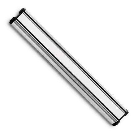 Держатель магнитный 30 см, цвет стальной матовыйМагнитные держатели, Подставки для ножей<br>Магнитный держатель увеличивает функциональность кухни в целом. Благодаря ее скромным габаритам, подвеска позволяет сформировать рабочую зону в нужном месте. К тому же, расположенная на стене магнитная подвеска для ножей позволяет экономить кухонное пространство.<br><br>Серия: Magnetic holders