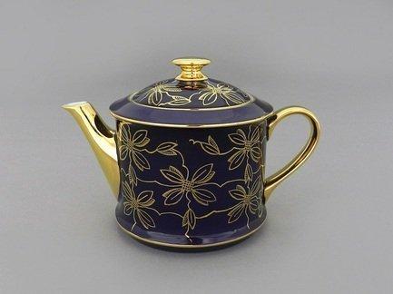 Чайник Виндзор (0.4 л), коричневый