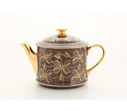 Чайник Виндзор (0.4 л), красныйЗаварочные чайники и Кофейники<br>Изящный фарфоровый чайник прекрасно подходит для подачи кофе к столу и заваривания чая. В нем можно приготовить заварку черного или зеленого чая и подать к столу, а воду для чая следует подать отдельно. Таким образом, каждый гость сможет выбрать крепость завариваемого напитка.<br><br>Серия: Виндзор
