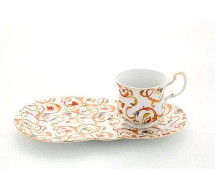 Сервиз чайный для завтрака Моника, 2 пр.