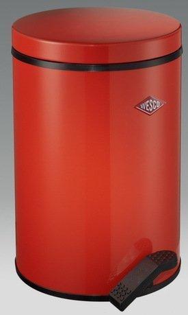 Мусорный контейнер с педалью (13 л), красный (117767)