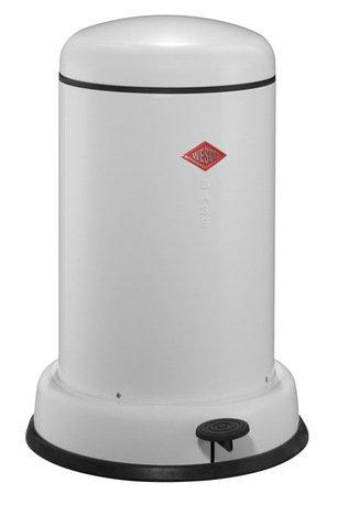 Мусорный контейнер Baseboy (15 л), белый (117539)Мусорные ведра<br>Этот элегантный и практичный мусорный контейнер отличается стильным исполнением, потрясающим удобством в использовании, надежностью и долговечностью. Контейнер прекрасно впишется в интерьер вашей кухни, санузла, балкона или террасы. Корпус и крышка контейнера изготовлены из высококачественной нержавеющей стали и покрыты стойкой лаковой краской. Педаль и устойчивое основание в виде декоративного кольца выполнены из прочного бытового пластика. А внутреннее мусорное ведро изготовлено из гальванизированной огнестойкой стали. Контейнер легко открывается при помощи педали, выполненной из прочного нескользящего пластика.<br><br>Серия: Baseboy