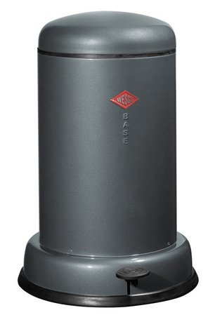 Мусорный контейнер Baseboy (15 л), графит (117542)Мусорные ведра<br>Этот элегантный и практичный мусорный контейнер отличается стильным исполнением, потрясающим удобством в использовании, надежностью и долговечностью. Контейнер прекрасно впишется в интерьер вашей кухни, санузла, балкона или террасы. Корпус и крышка контейнера изготовлены из высококачественной нержавеющей стали и покрыты стойкой лаковой краской. Педаль и устойчивое основание в виде декоративного кольца выполнены из прочного бытового пластика. А внутреннее мусорное ведро изготовлено из гальванизированной огнестойкой стали. Контейнер легко открывается при помощи педали, выполненной из прочного нескользящего пластика.<br><br>Серия: Baseboy