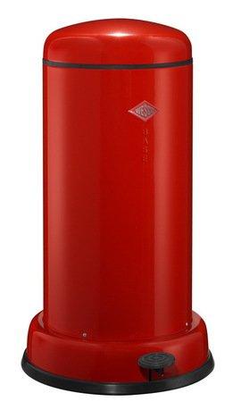 Мусорный контейнер Baseboy (20 л), красный (117549)Мусорные баки<br>Этот элегантный, вместительный мусорный контейнер отличается стильным исполнением, потрясающим удобством в использовании, надежностью и долговечностью. Контейнер прекрасно впишется в интерьер вашей кухни, санузла, балкона или террасы. Корпус и крышка контейнера изготовлены из высококачественной нержавеющей стали и покрыты стойкой лаковой краской. Педаль и устойчивое основание в виде декоративного кольца выполнены из прочного бытового пластика, а внутреннее мусорное ведро - из гальванизированной огнестойкой стали. Контейнер легко открывается при помощи педали, выполненной из прочного нескользящего пластика.<br><br>Серия: Baseboy
