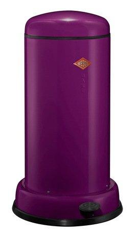 Мусорный контейнер Baseboy (20 л), баклажан (117555)Мусорные баки<br>Этот элегантный, вместительный мусорный контейнер отличается стильным исполнением, потрясающим удобством в использовании, надежностью и долговечностью. Контейнер прекрасно впишется в интерьер вашей кухни, санузла, балкона или террасы. Корпус и крышка контейнера изготовлены из высококачественной нержавеющей стали и покрыты стойкой лаковой краской. Педаль и устойчивое основание в виде декоративного кольца выполнены из прочного бытового пластика, а внутреннее мусорное ведро - из гальванизированной огнестойкой стали. Контейнер легко открывается при помощи педали, выполненной из прочного нескользящего пластика.<br><br>Серия: Baseboy