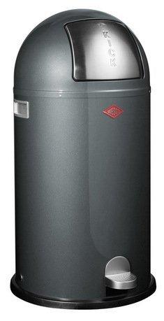 Мусорный контейнер Kickboy (40 л), графит (117584)