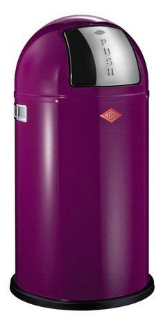 Мусорный контейнер Pushboy (50 л), баклажан (117577) Wesco 175831-36