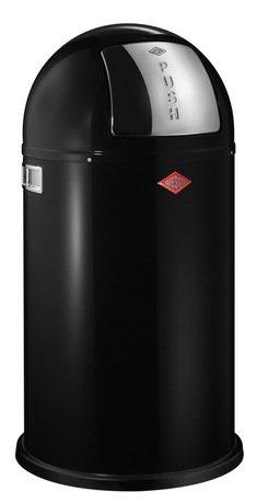 Мусорный контейнер Pushboy (50 л), черный (117580) Wesco 175831-62