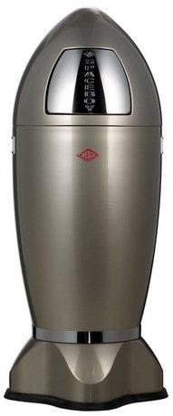 Мусорный контейнер Spaceboys XL (35 л), серебро (117607)