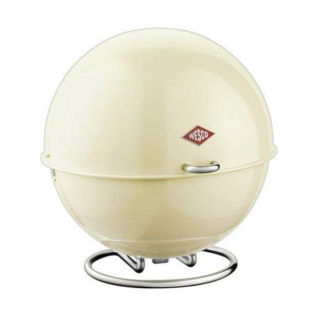 Емкость-Шар Superball, 26х26 см, слоновая кость (117624)Контейнеры<br>В этой необычной емкости стильной расцветки можно хранить любые продукты. Выпечка, хлеб, печенье в ней долго остаются свежими и не подсыхают. В ней также можно подавать к столу фрукты, сладости и другие продукты - изящный шар с лакомствами великолепно впишется в сервировку любого стола.<br><br>Серия: Superball